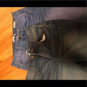 2 pairs of MUDD jeans size 9
